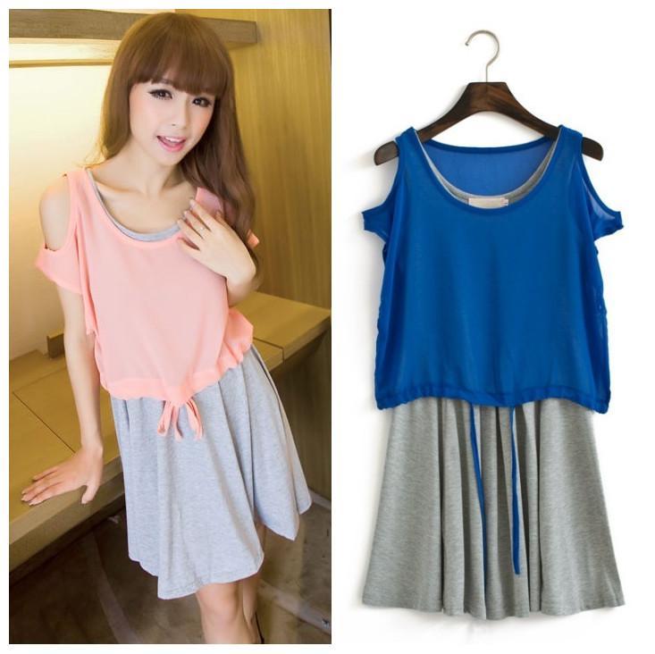 korean style sweet twopiece dress c end 612018 1200 am