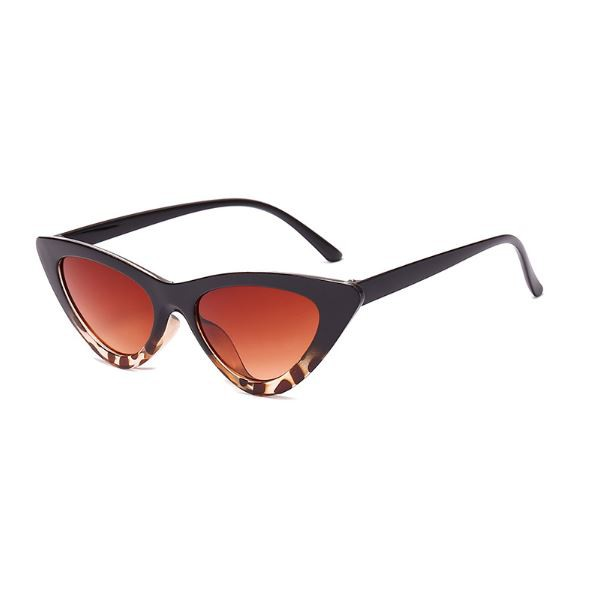 Korean Style Ulzzang Women Vintage Triangle Cat Eye Sunglasses Small Sun Glass