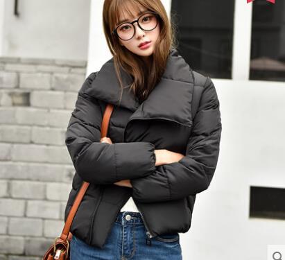 Korean Style Woman Winter Jacket Coat Lady