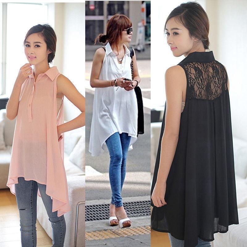 Korean Style Womens 39 Sleeveless Loos End 3 30 2017 3 02 Pm