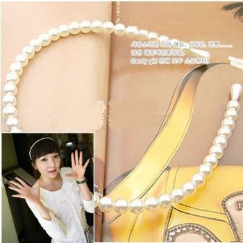 Korean Sweet Pearl Hair Bands