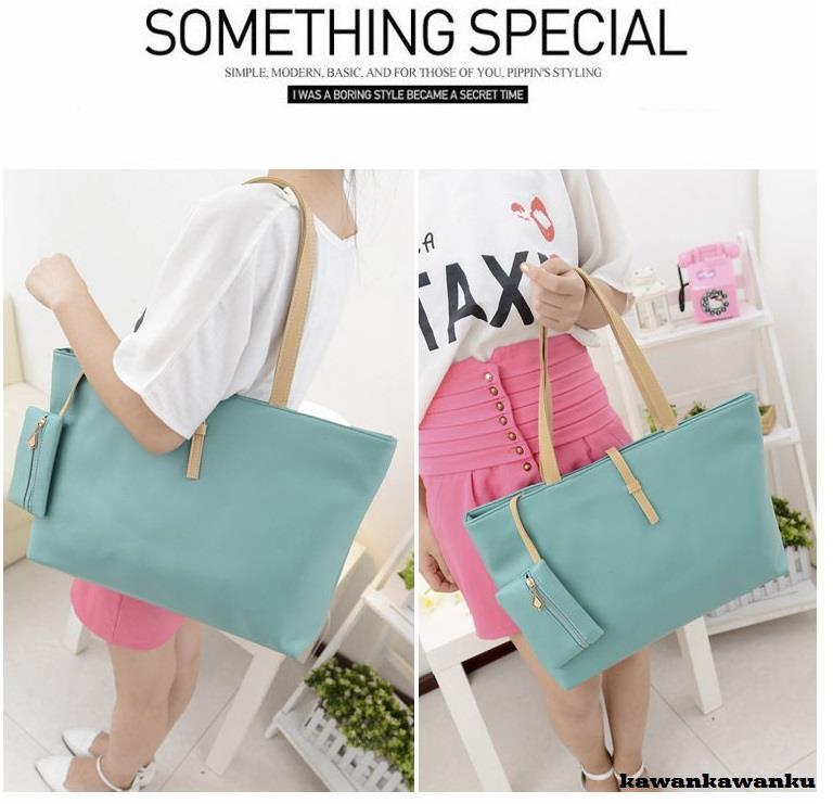 5bd117ee6fa8 Korean Type Women PU Leather Handbag Women Shoulder Bag Sling bag. ‹ ›