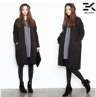 Korean Women Long Sections Loose Kn End 11232019 915 Pm