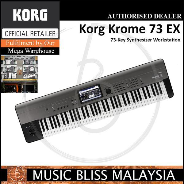 Korg Krome EX 73 73-Key Synthesizer Workstation with 0% Instalment
