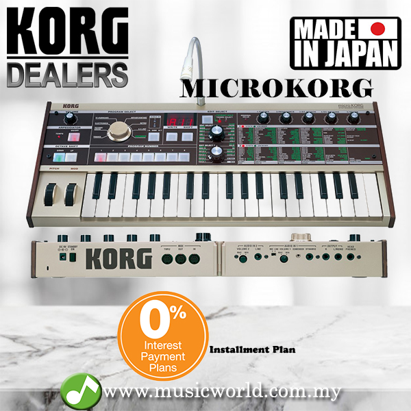 Korg microKORG Synthesizer Keyboard Piano and Vocoder (MICROKORG MK1)
