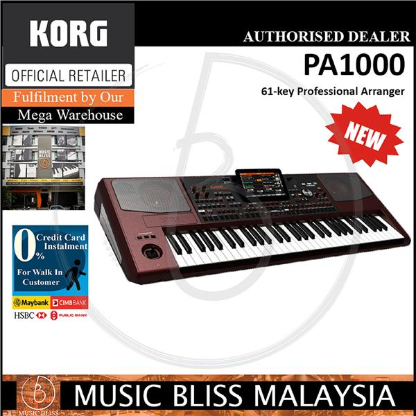 אולטרה מידי Korg Pa1000 61-key Professional Arran (end 7/9/2020 2:50 PM) KQ-22