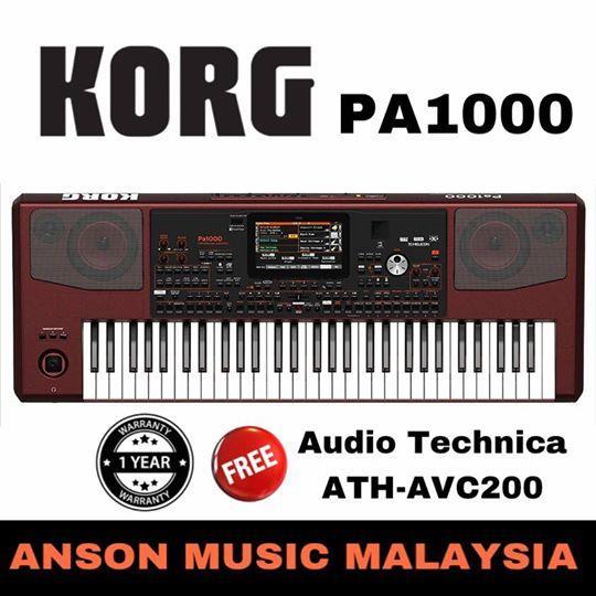 רק החוצה Korg PA1000 Professional Arranger (end 8/2/2018 5:01 PM) SZ-23