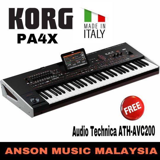 Korg PA4X Professional Arranger Workstation, 61 Keys