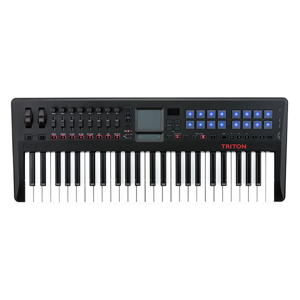 Korg TRTK49 USB MIDI Controller Keyboard Synthesizer with TRITON Engin