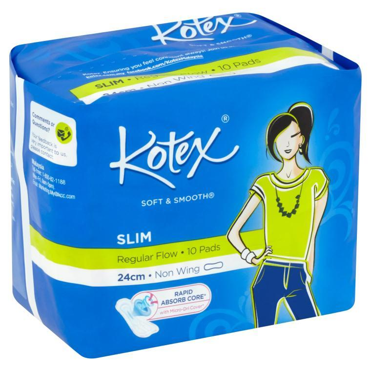 Kotex Pads Soft Smooth Slim Non Wi End 1152018 315 Pm