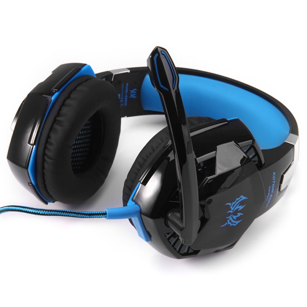 KOTION EACH G2200 GAMING HEADPHONE 7.1 SURROUND USB VIBRATION GAME HEA..