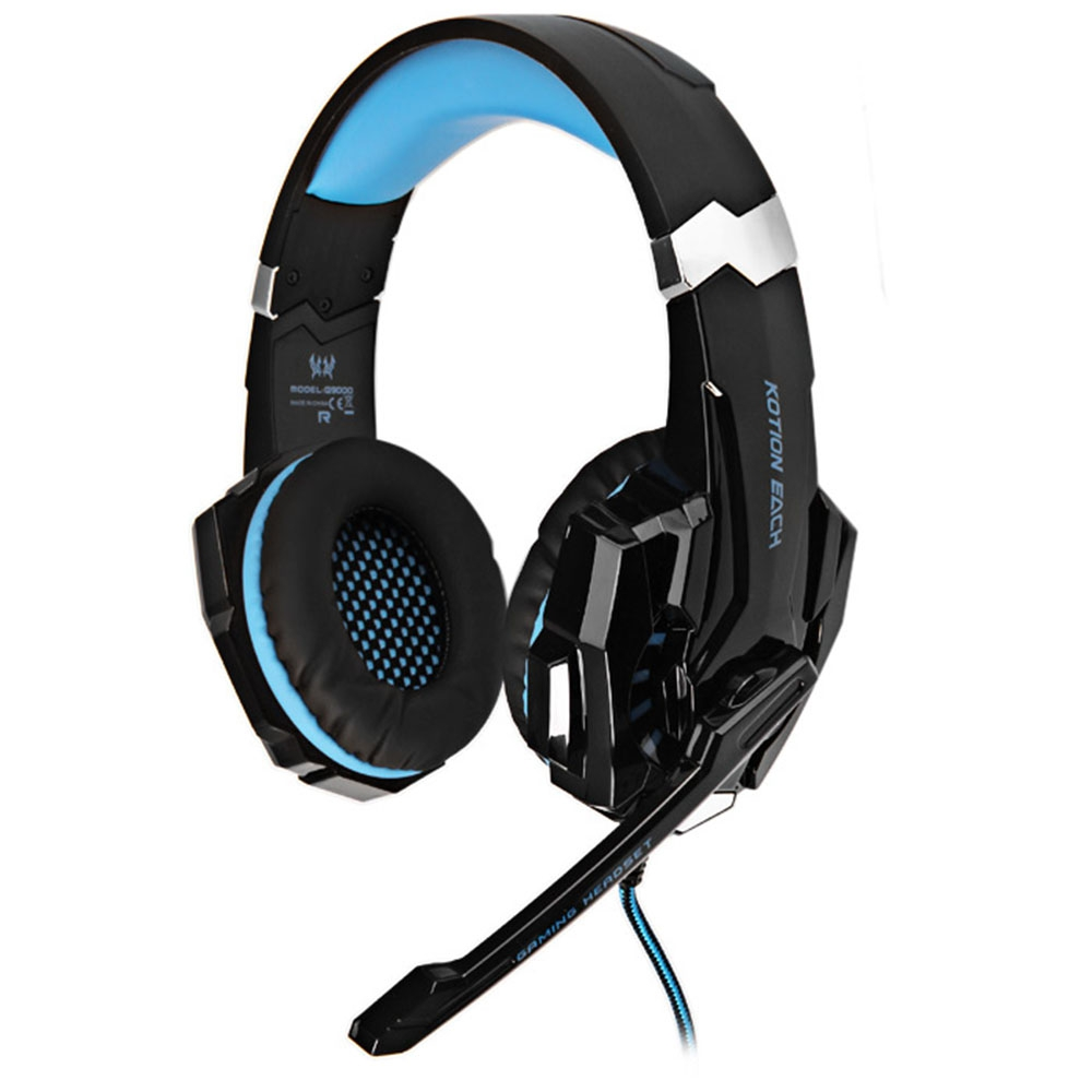 KOTION EACH G9000 GAMING HEADPHONE 7.1 SURROUND USB VIBRATION GAME HEA..