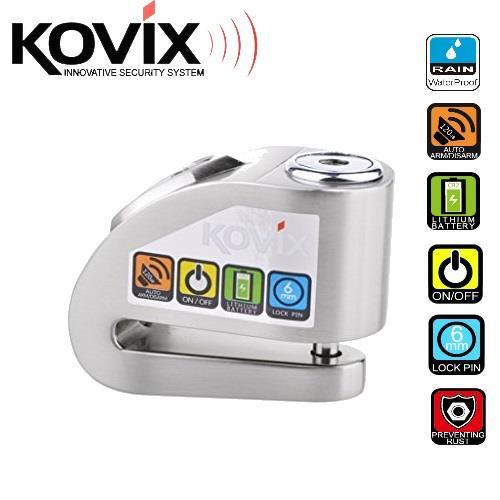 KOVIX KD6-SS 120dB Alarm Disc Lock