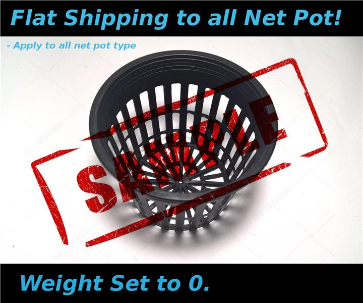 Kratky Method Hydroponic Cup Net Pot with Sponge OD8.4 ID5.9 H6.9