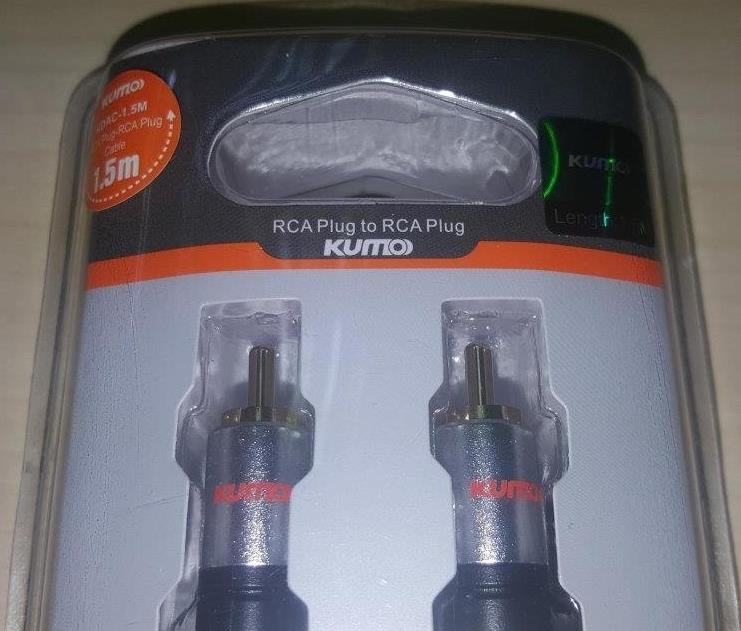 KUMO Cable DIGITAL AUDIO COAXIAL 1.5M (KDAC-1.5M)