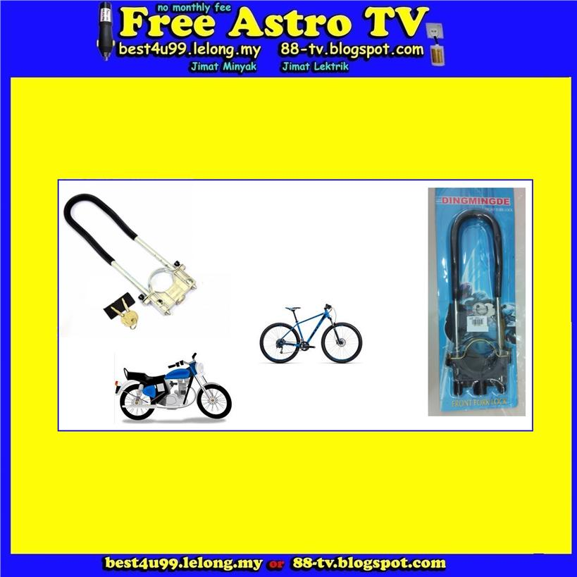 Kunci mangga safety front fork lock security bike motorcycle yamaha et