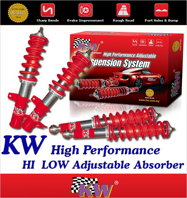 KW GERMANY Hi-Low Adjustable Absorber: NAZA KIA  CITRA
