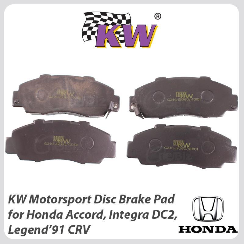 Attractive KW Motorsport Disc Brake Pad For Honda Accord, Integra DC2, Honda CRV. U2039 U203a