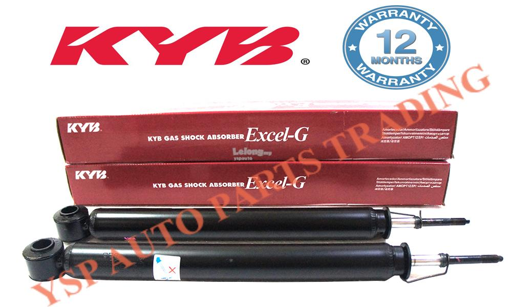 KYB Rear Gas Shock Absorber Set (2pcs) Toyota Vios 1.5 NCP42 2003~2007