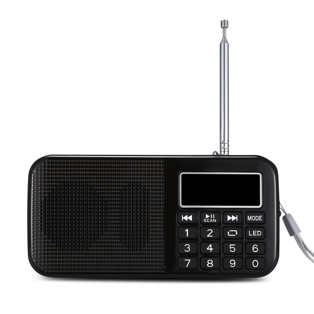 L - 558 MINI DIGITAL LED DISPLAY SCREEN SPEAKER FM RADIO MUSIC PLAYER