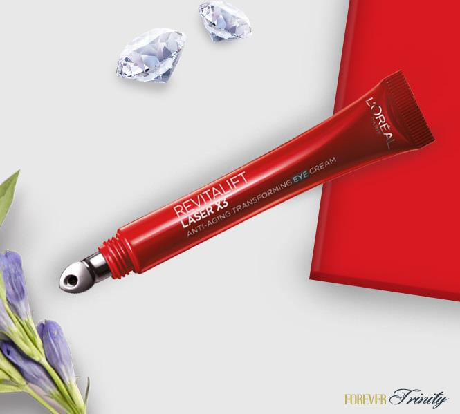 L'Oreal Paris Revitalift Laser X3 Anti-Aging Transforming Eye Cream