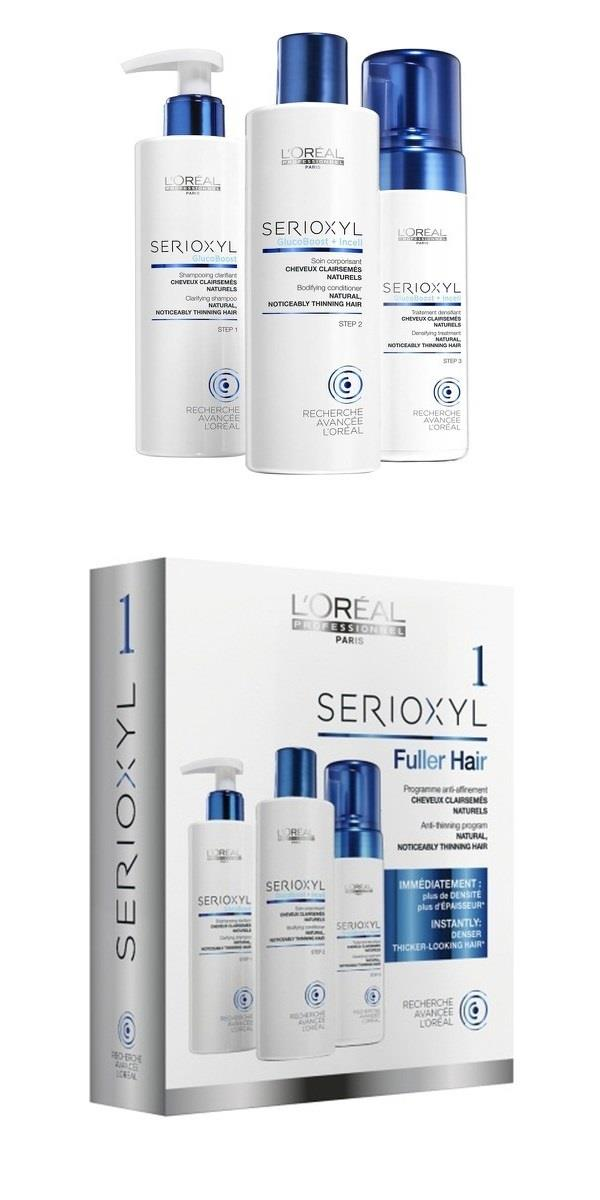L'Oreal Pro Serioxyl Kit 1 (for Natural Thinning Hair)