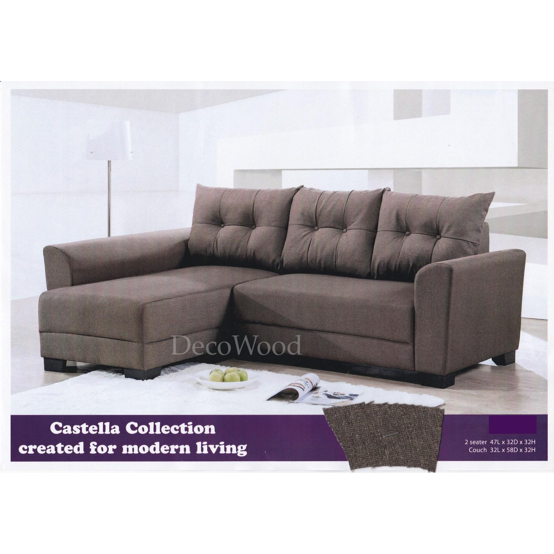 L Shape Fabric Sofa Lounge Chair Lou End 5 4 2021 12 00 Am