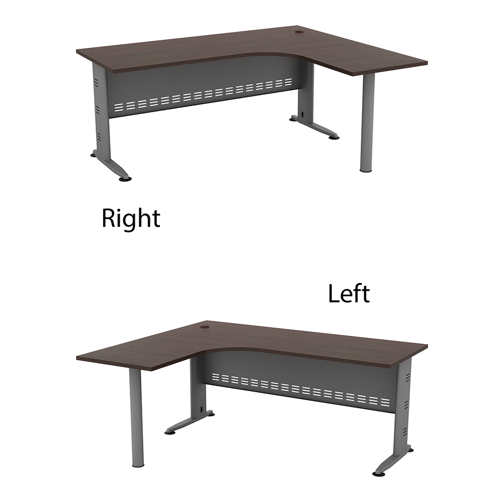 "L Shape Table C/W ""j""Leg QL 1515-M (L) / QL 1515-M (R)"