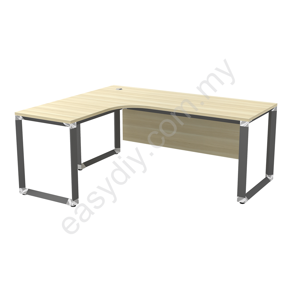 "L Shape Table C/W ""O"" Leg OWL 1515 (L) / OWL 1515 (R)"