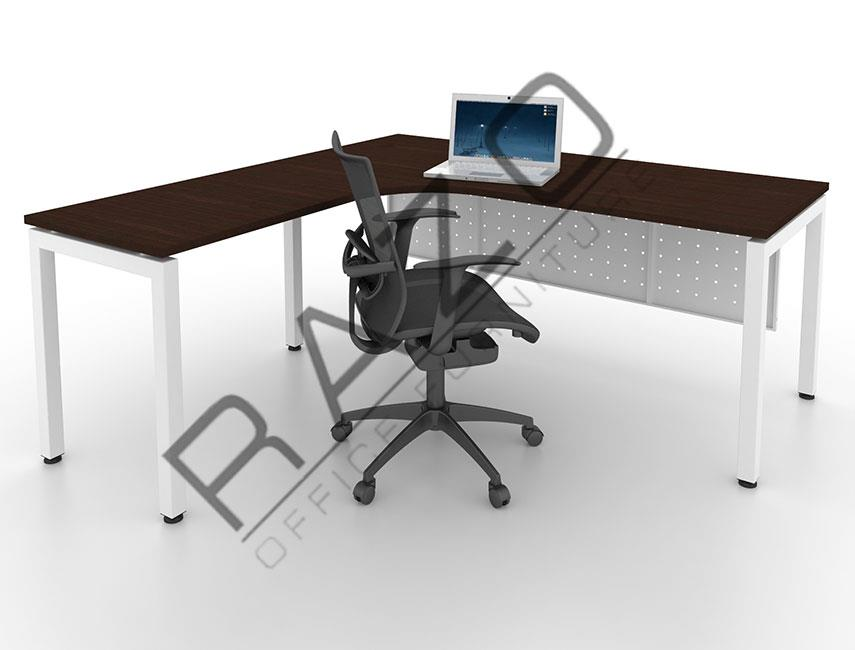 L shape Writing Table | Office Table  | Office Furniture -MUL1515W