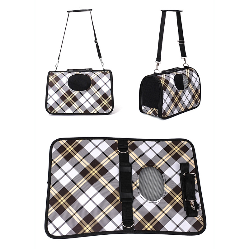 L-Size Oxford Pet Carrier Bag Pet Bag Cat Carrier Dog Carrier Purses Carry Kit