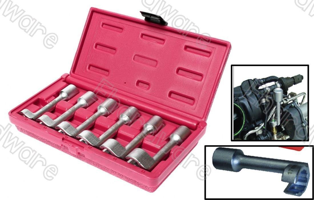 L-TYPE OPEN ENDED RING WRENCH SOCKET SET (4757)