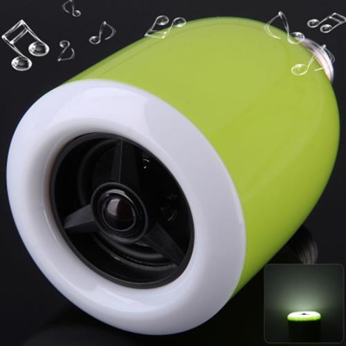 L101 E27 WIRELESS BLUETOOTH 4 0 AUDIO PLAYER SPEAKER COMBO APP CONTROL LED  BUL