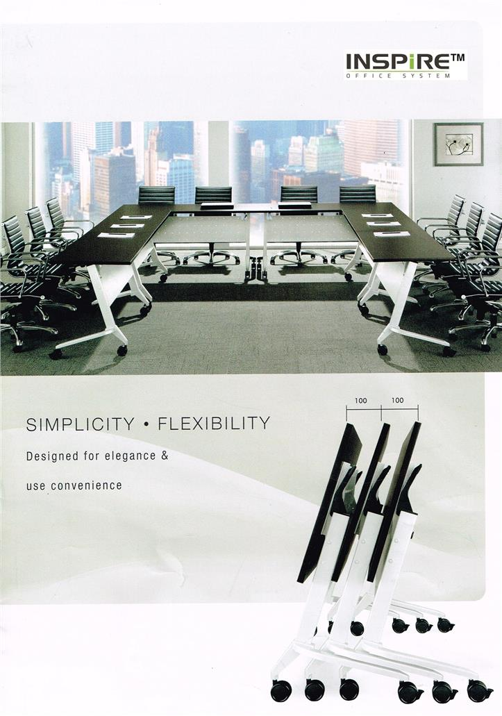 L1200 x D750(mm) FLICK-I Portable Foldable Table|Roller Folding Table