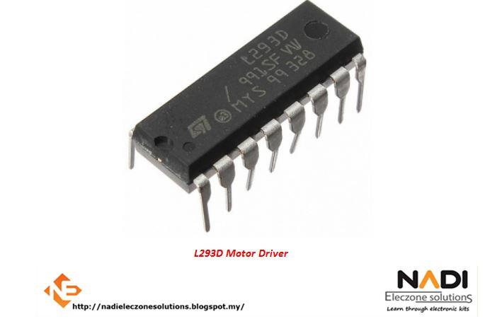 L293d push pull four channel motor dr end 982018 206 pm l293d push pull four channel motor driver ic chip arduino pic sciox Gallery