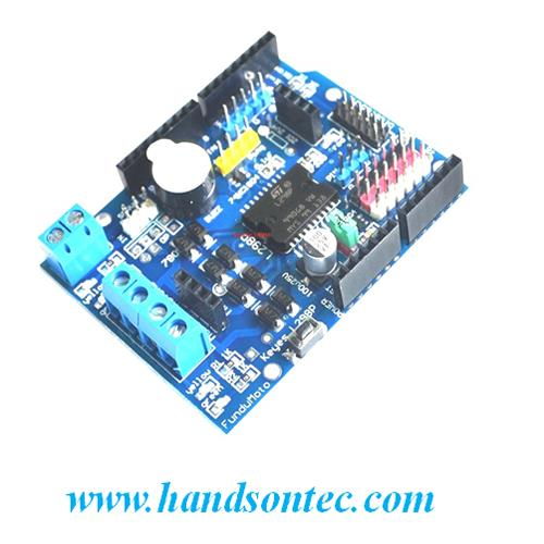 L298P 2-A Dual H-Bridge Motor Shield for Arduino