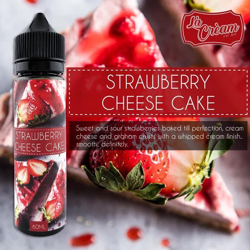 La Cream Creamy Juice 60ml e Liquid 6mg/12mg Yam/Chocolate/Cheesecake