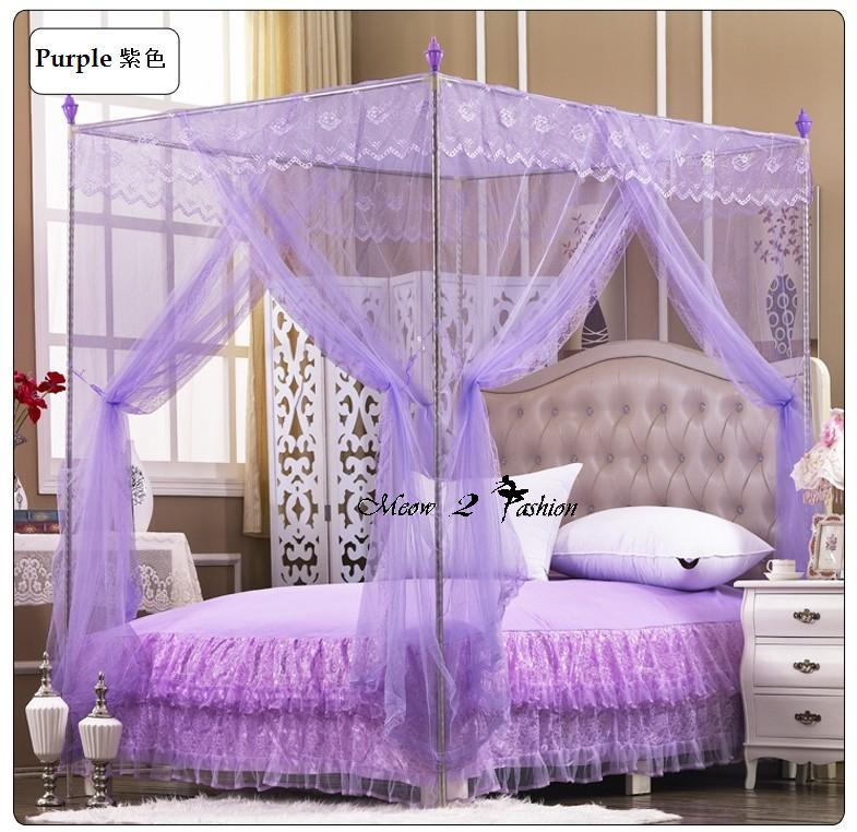 Lace Mosquito Net Bed Canopy & Lace Mosquito Net Bed Canopy (end 5/18/2018 10:15 AM)