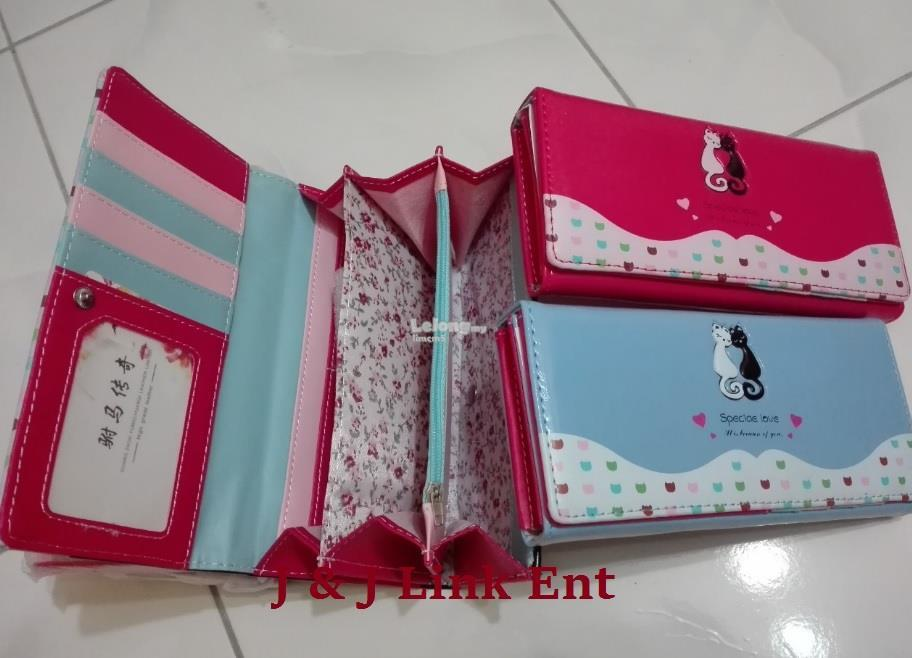 Ladies Mutiple Pocket Wallet (Special Love)