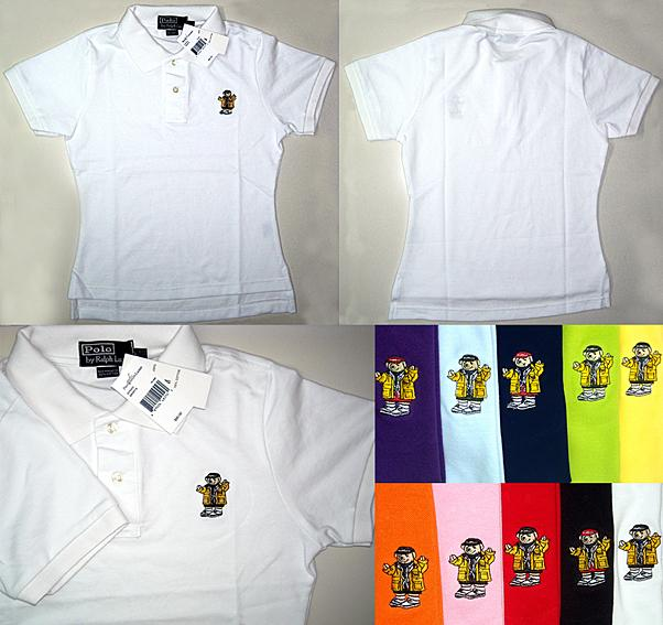 Ladies Polo Bear Skinny Polo T