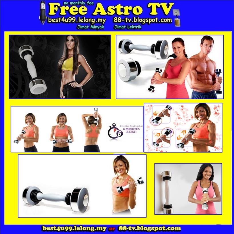 Ladies Shake Weight DumbBell Body Trainer DVD Girl lady women man boy