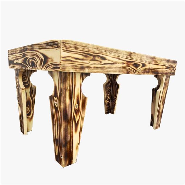 Ladubee Pine Wood Coffee Table Shoj End AM - 3ft coffee table