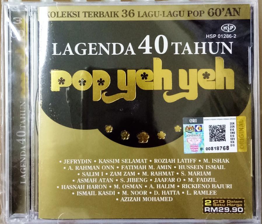 Lagenda 40 Tahun Pop Yeh Yeh 2cd J End 11 14 2021 12 00 Am