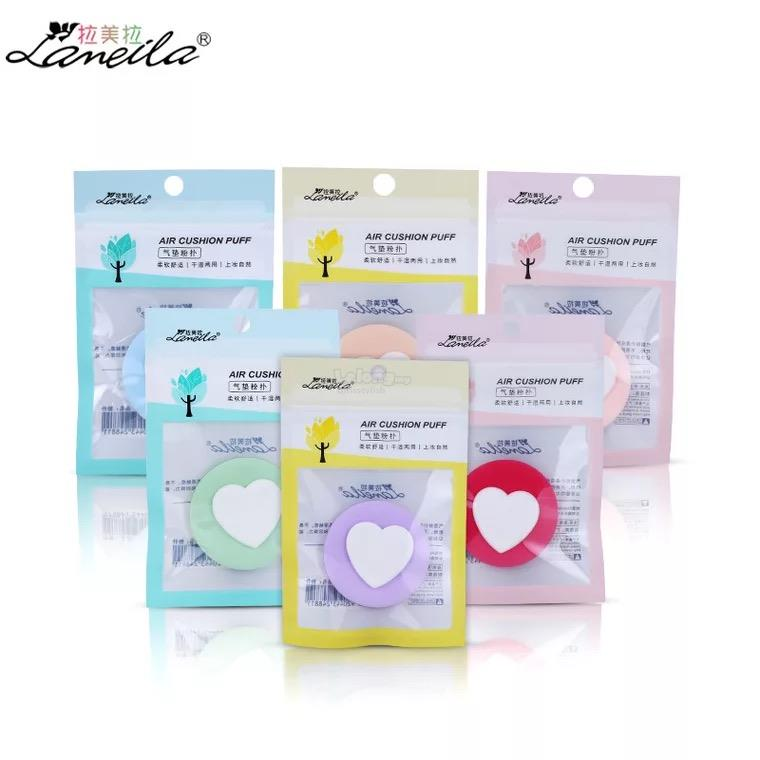 Lameila Air Cushion Puff Makeup Powder Bb Cc Cream Sponge Puff Random