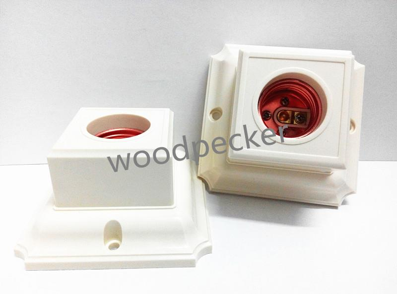 Lamp Holder Batten Square ES 3A FK-504 620368