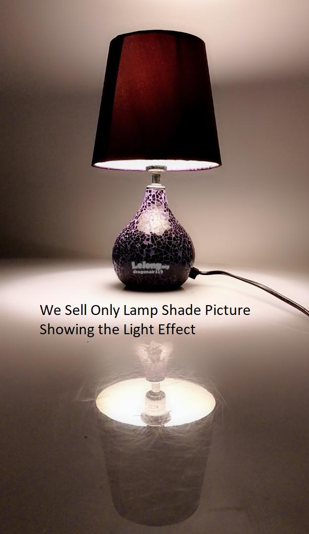 Lamp Shades Purple Lamp Shades Clip On Lampshade 19CM