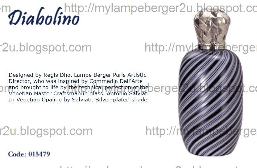 Lampe Berger Signatures Collection Diffuser 015479 Edition