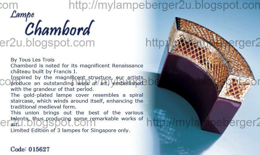 Lampe Berger Signatures Collection Diffuser 015627 Edition