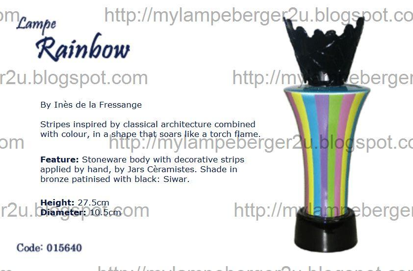 Lampe Berger Signatures Collection Diffuser 015640 Edition