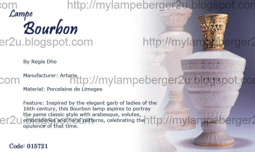 Lampe Berger Signatures Collection Diffuser 015721 Edition